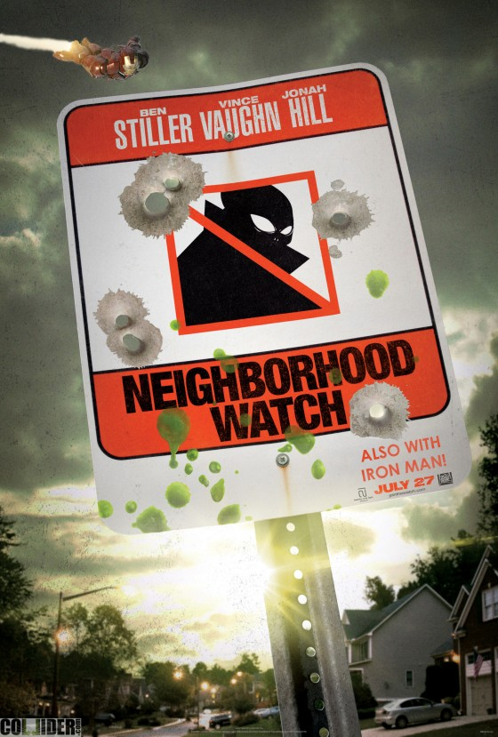 Neighborhood Watch movie Iron Man 560x829