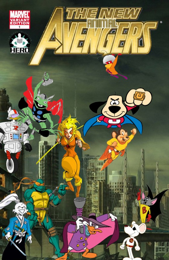New Avengers 560x859