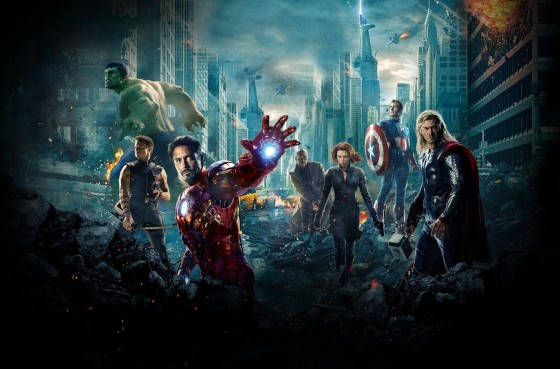 The Avengers group shot 560x369