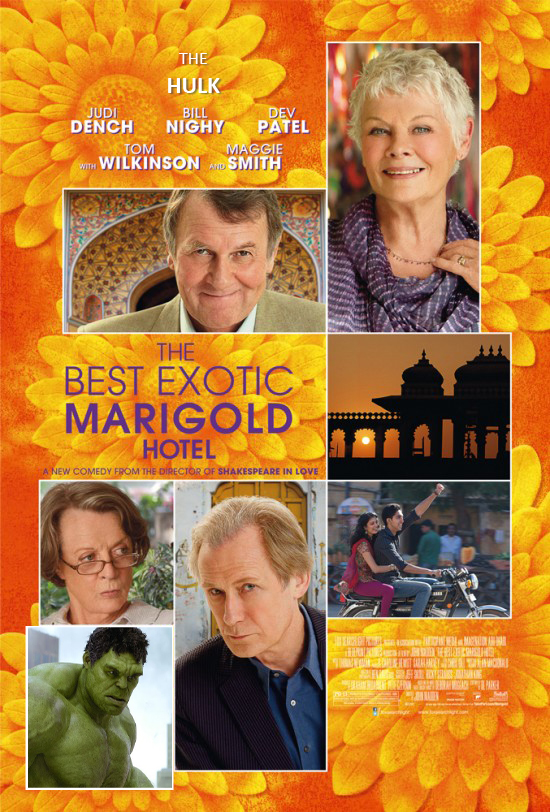The Best Exotic Marigold Hotel HULK