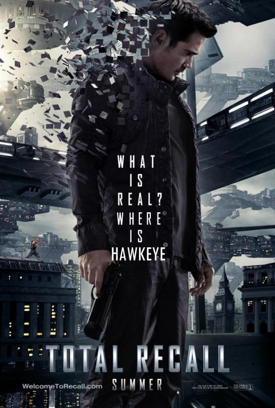 Total Recall 2012 Movie Hawkeye 560x830