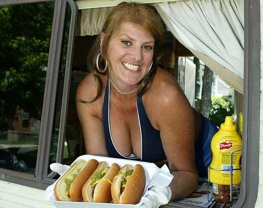 hotdog truck