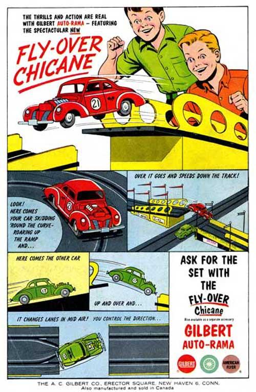 vintagecomicbookadcars