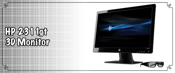 HP 2311gt 3D Monitor 560x235