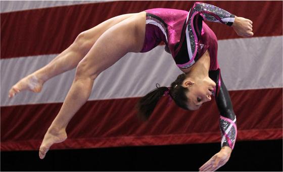 gymnastics trials