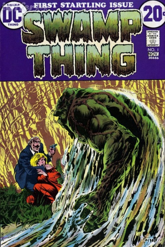 swamp thing comic 560x841