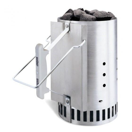 weber rapidfire chimney starter for charcoal 560x560