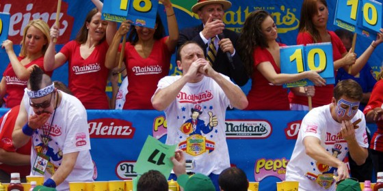 Nathans Hot Dog Contest 560x280