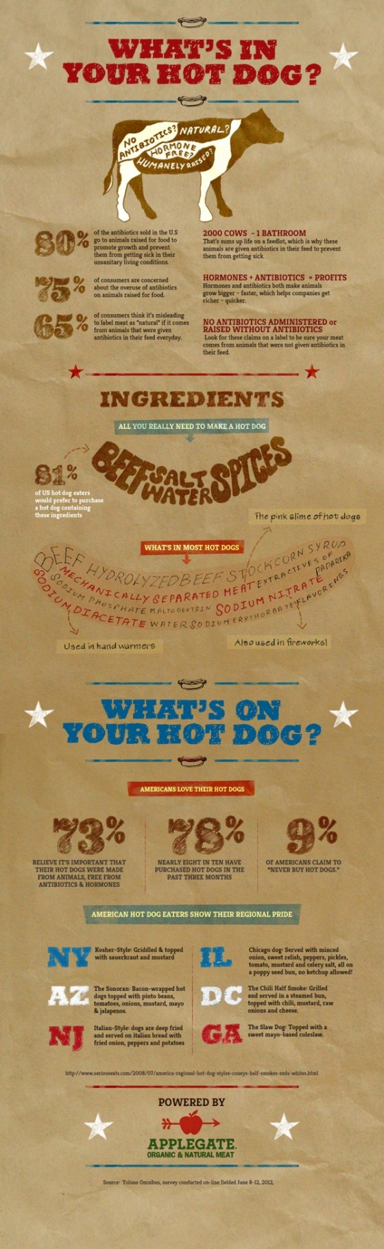 Whats in HotDog Infographic 560x1820