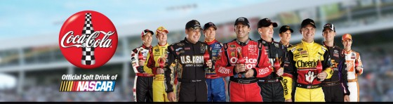 Coca Cola NASCAR 560x148