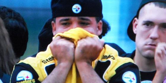 Crying Steelers Fan
