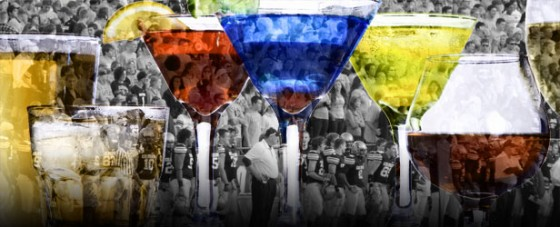 Feature Image Football Cocktails 560x227