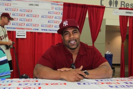 Jamal Lewis Autograph 560x373