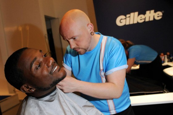 Justin Gatlin Shave 560x374