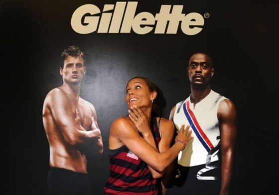Lolo Jones Gillette 560x391