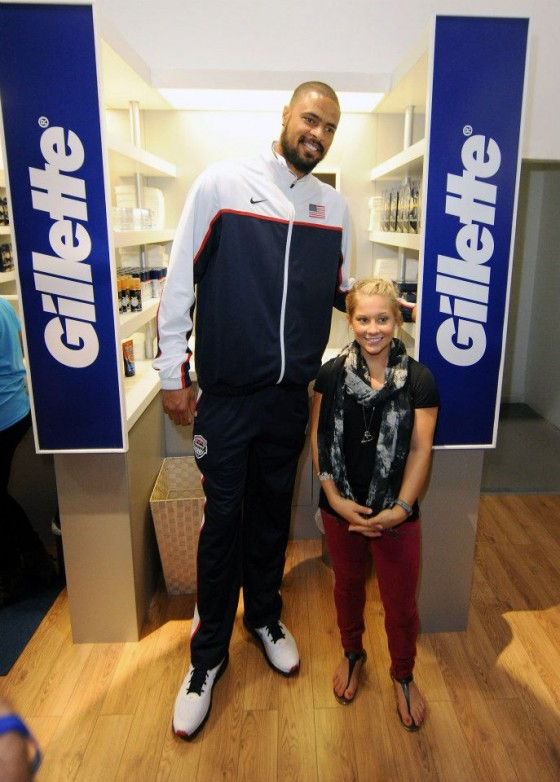 Tyson Chandler Shawn Johnson 560x782
