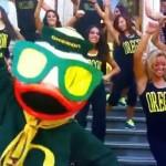 Oregon Ducks Parody Gangnam Style