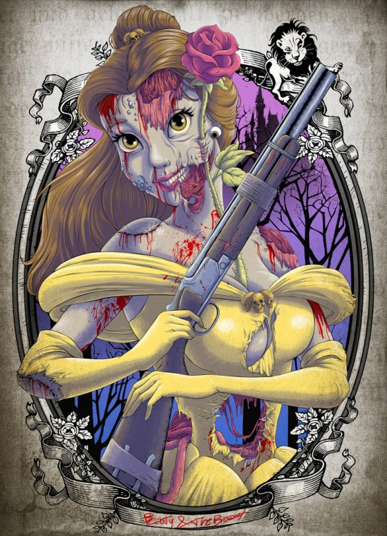 the zombie belle white princess by clocktowerman d5btodg 560x776