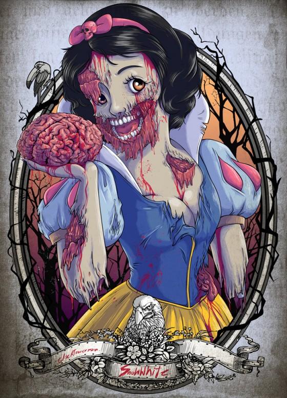 zombie snow white 560x776