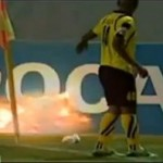 Live Grenade Thrown Onto Soccer Field, Seriously