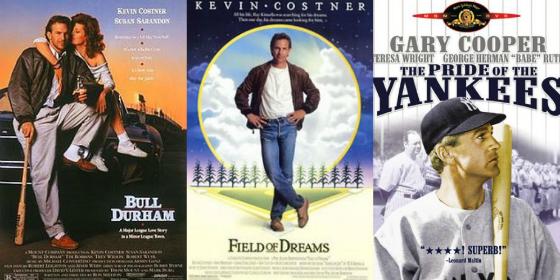 Baseball movie header