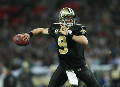 Drew Brees New Orleans Saints 510 Yards