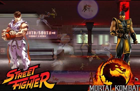 MK vs SF Ryu vs Scorpion by DarkHadouSasuke 560x365