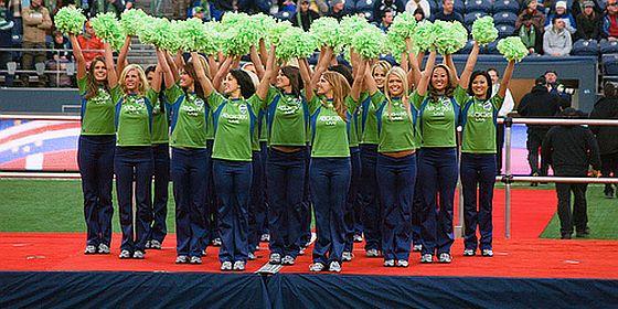 Sounders Cheerleaders