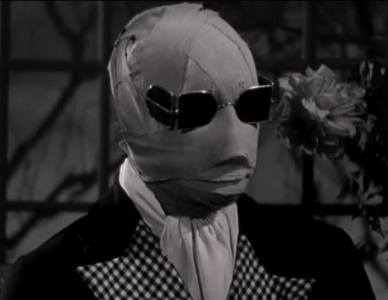 The Invisible Man Claude Rains 560x434