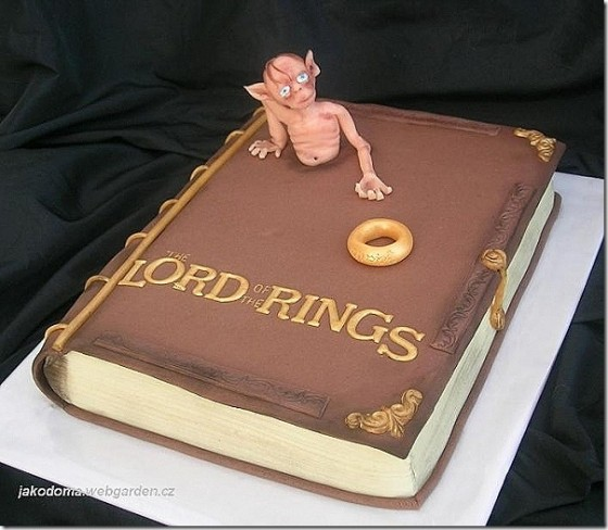 Super 20 Awesome Lord Of The Rings And Hobbit Cakes Birthday Cards Printable Giouspongecafe Filternl
