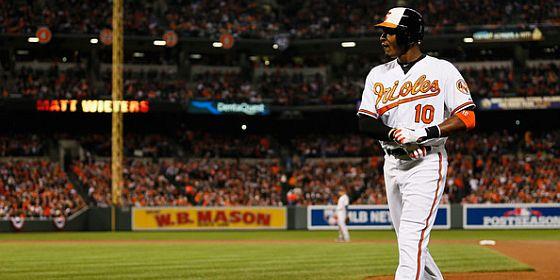 Adam Jones Playoffs disappointing hitter Orioles