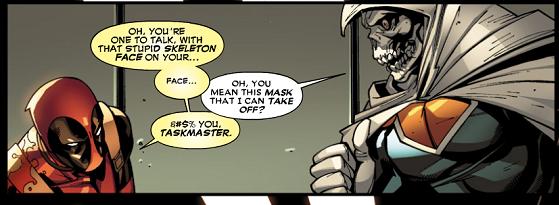 Deadpool Vol 2 9 page Tony Masters Earth 616