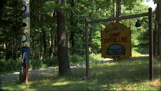 Friday the 13th Camp Crystal Lake sign 560x315