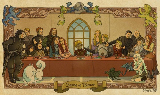 Game of Thrones Last Supper 560x334