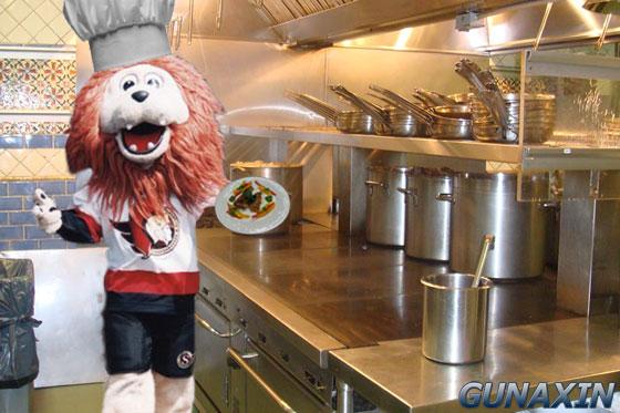 Ottawa Senators Mascot Spartacat Chef