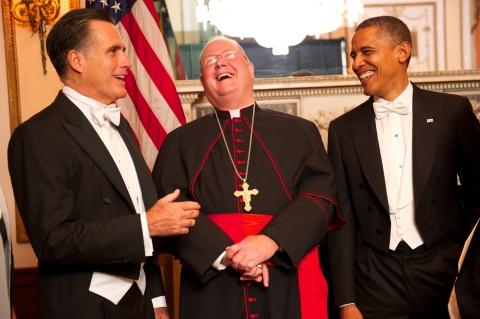 Romney Obama Al Smith Dinner