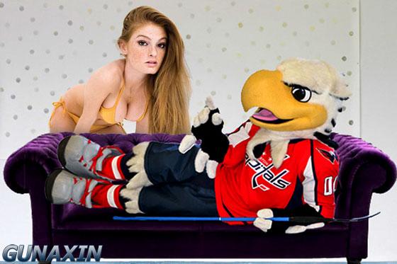 Washington Capitals Mascot Slapshot Porn