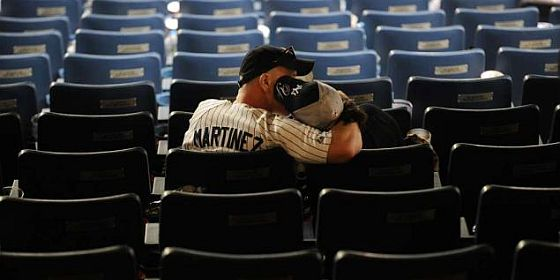 Yankee fans sad