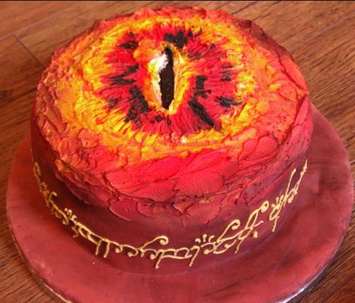 sauron cake