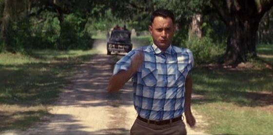Forrest Gump running alabama jenny