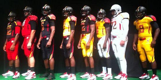 Maryland uniforms