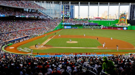 Miami Marlins stadium 560x314