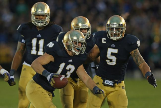 Notre Dame Football 560x377
