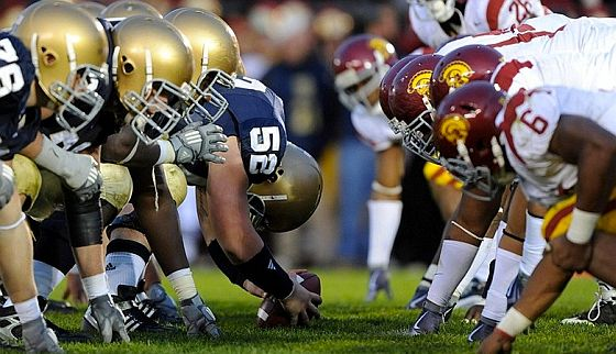USC Notre dame rivaly week