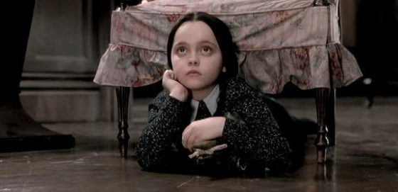 Wednesday Addams Inquisitive 560x271