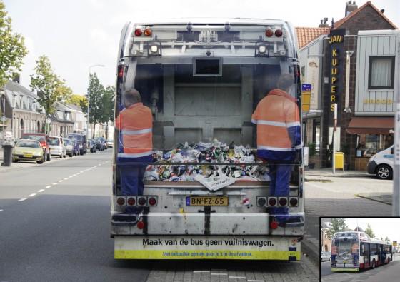 vehicle wraps trashbus 560x395