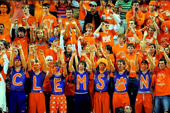 Clemson Fans 560x375