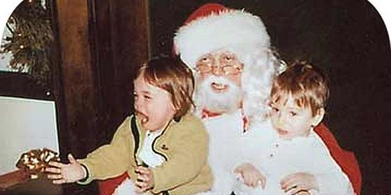 Creepy Santa drunk header