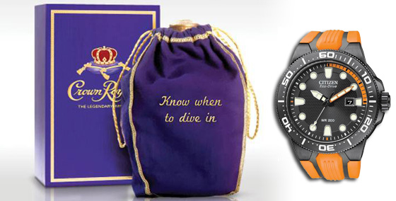 Crown Bag Watch