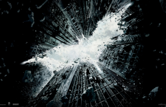 Dark Knight Rises Poster 560x364